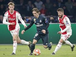 Modric gegen Ajax