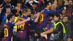 Der FC Barcelona setzte sich deutlich gegen den FC Liverpool durch