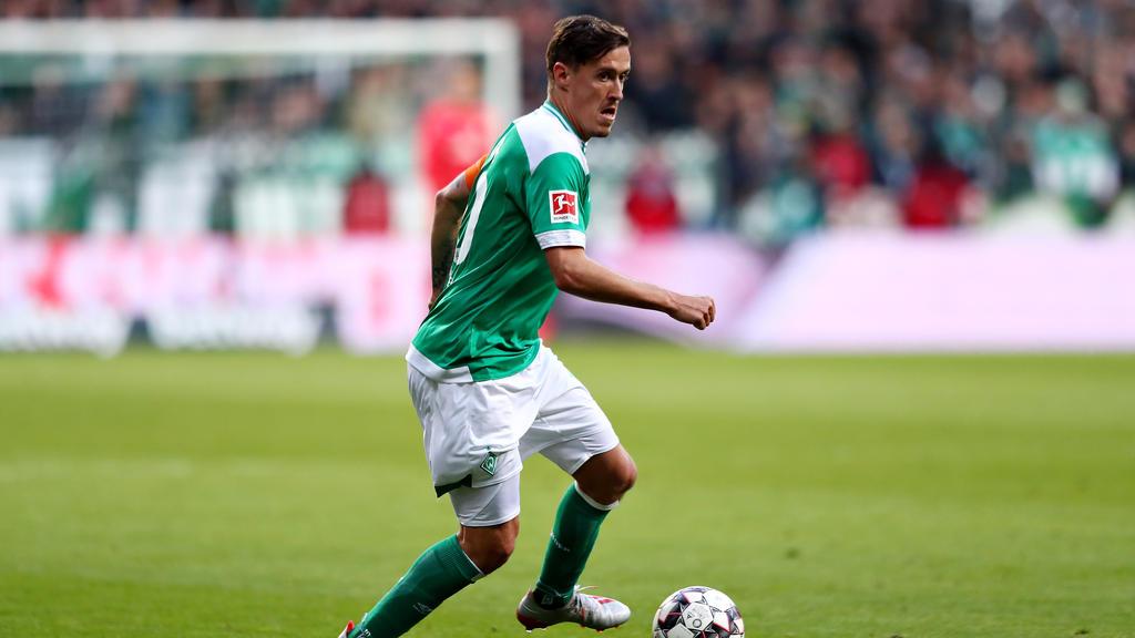 Der Vertrag von Max Kruse beim SV Werder läuft am Saisonende aus
