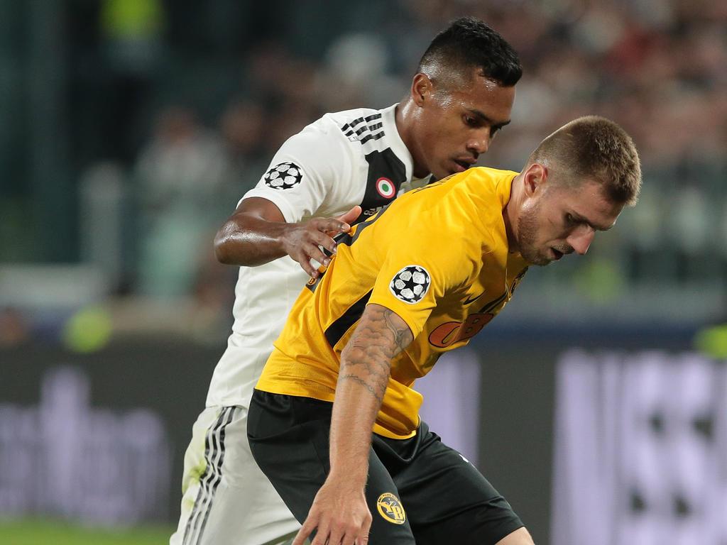 Thorsten Schick spielte mit Bern in der CL gegen Juventus. © Getty Images/Emilio Andreoli