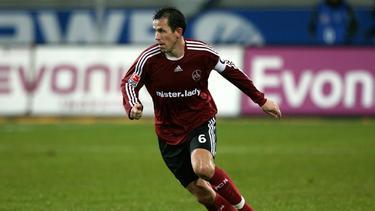 Tomas Galasek spielte zwischen 2006 und 2008 für den 1. FC Nürnberg