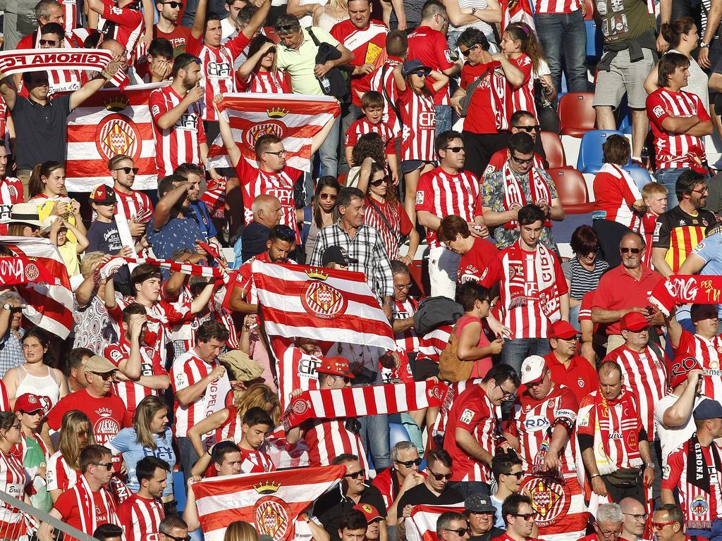 Die Fans des FC Girona dürfen sich auf Erstligafußball freuen
