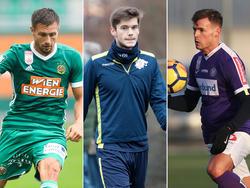 Schrammel, Malicsek und Stangl haben innerhalb der Liga gewechselt.