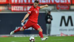 Steht bei Fortuna Düsseldorf auf dem Zettel: Lars Lukas Mai vom FC Bayern