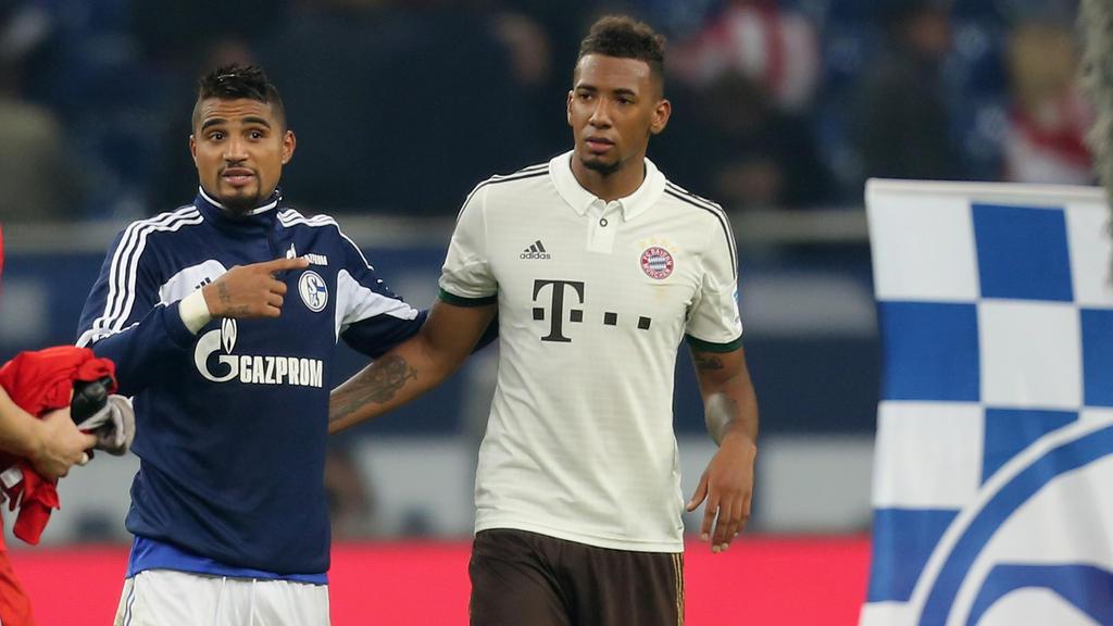 Spielen Kevin-Prince und Jérôme Boateng bald bei Eintracht Frankfurt?