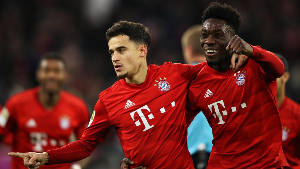 Unfassbare Leistung von Coutinho beim Kantersieg des FC Bayern