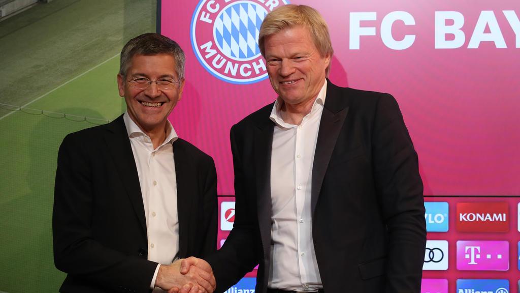 Oliver Kahn legt beim FC Bayern los: Neuer Vorstand äußert sich zu ...