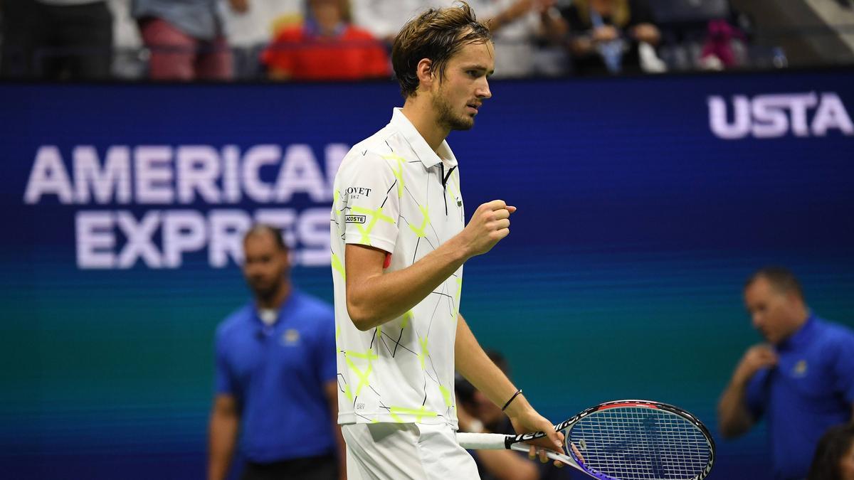 Medvedev steht erneut im Halbfinale der US Open