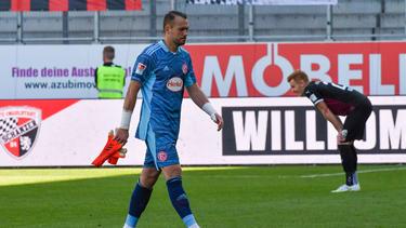 Florian Kastenmeier wurde für eine Partie gesperrt