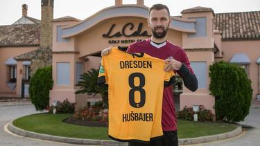 Josef Husbauer spielt fortan für Dynamo Dresden