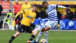 Der MSV Duisburg verspielte eine Zwei-Tore-Führung