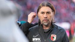 Martin Schmidt ist nicht mehr Trainer des FC Augsburg