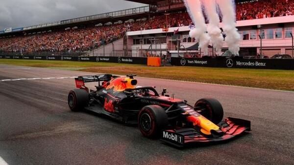 Max Verstappen triumphierte 2019 eindrucksvoll in Hockenheim