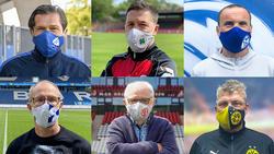 Vereinslegenden aus dem Ruhrgebiet bewerben die gemeinsame Masken-Aktion