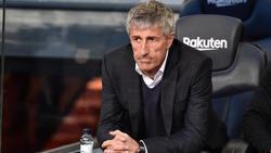 Quique Setien spürt beim FC Barcelona angeblich keinen Druck