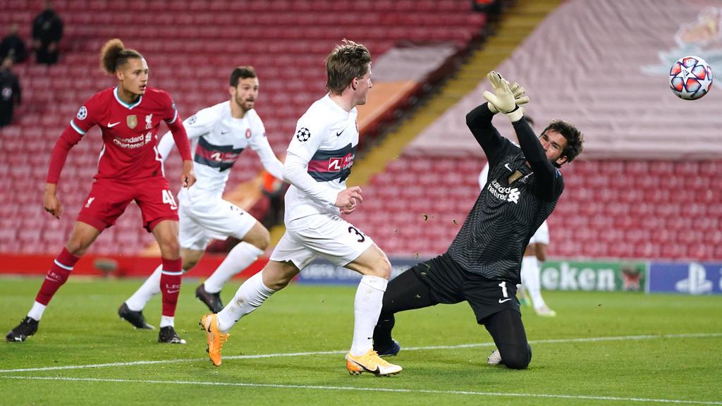 Der FC Liverpool tat sich gegen Medtjylland lange Zeit schwer
