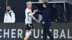 Joachim Löw ist nach demTestspiel gegen Tschechien zufrieden mit der Mannschaft