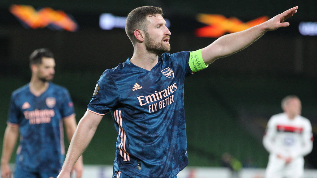 Shkodran Mustafi in der Europa League
