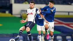 Die Spurs kamen gegen Everton nicht über ein Remis hinaus