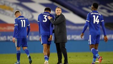 Wesley Fofana (3) bedankte sich bei der Premier League