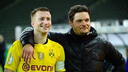 BVB-Kapitän Marco Reus und Edin Terzic haben eine sehr innige Beziehung