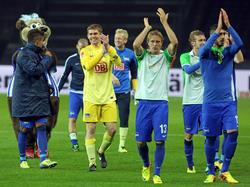 Hertha springt auf Platz vier
