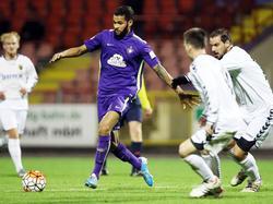 Cebio Soukou überzeugte die Verantwortlichen des FC Erzgebirge Aue bei einem Testspielauftritt