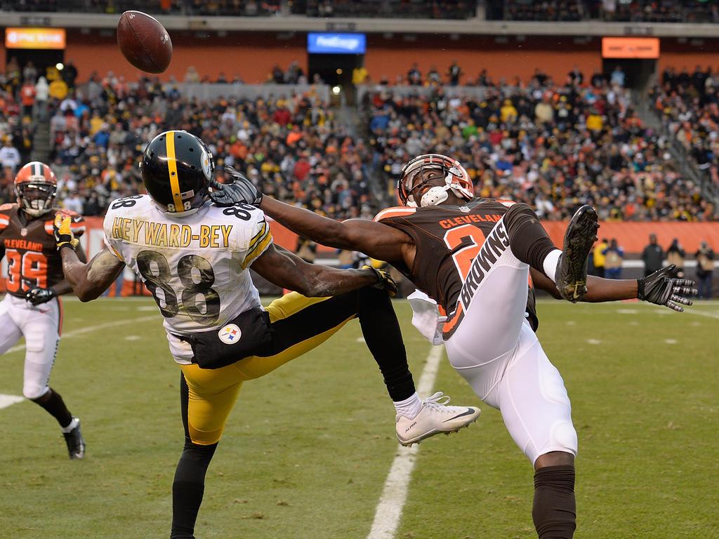 Die Steelers retteten sich mit einem Sieg gegen die Browns in die Playoffs
