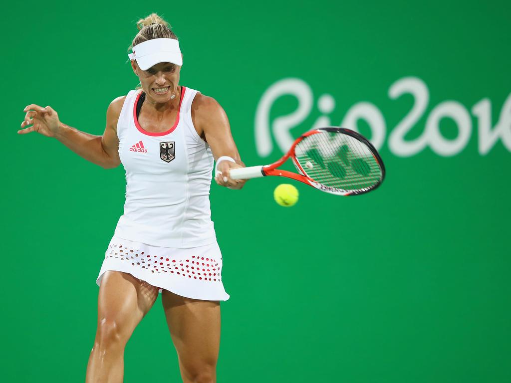 Angelique Kerber steht im Viertelfinale