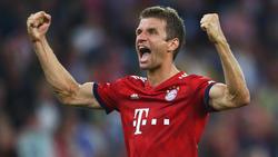 Thomas Müller erzielte das erste Tor der neuen Bundesligasaison