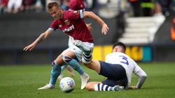 Andrey Yarmolenko findet auch bei West Ham nicht in die Spur