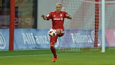 Mandy Islacker brachte den FC Bayern auf Kurs