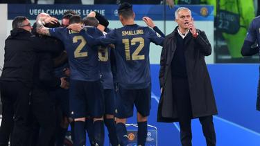 José Mourinho und seine Red Devils feierten einen Coup in Turin