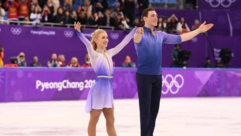 Eiskunstlauf-Paar Aljona Savchenko und Bruno Massot wann 2018 Olympia-Gold