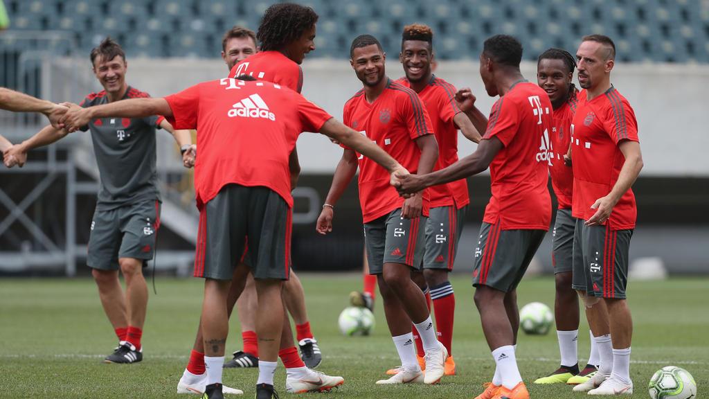 Beim FC Bayern München herrscht wieder bessere Stimmung