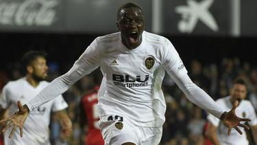 Mouctar Diakhaby traf in der Schlussphase zum Ausgleich für Valencia