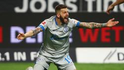 Guido Burgstaller kommt für S04 in der Liga bislang auf lediglich zwei Tore