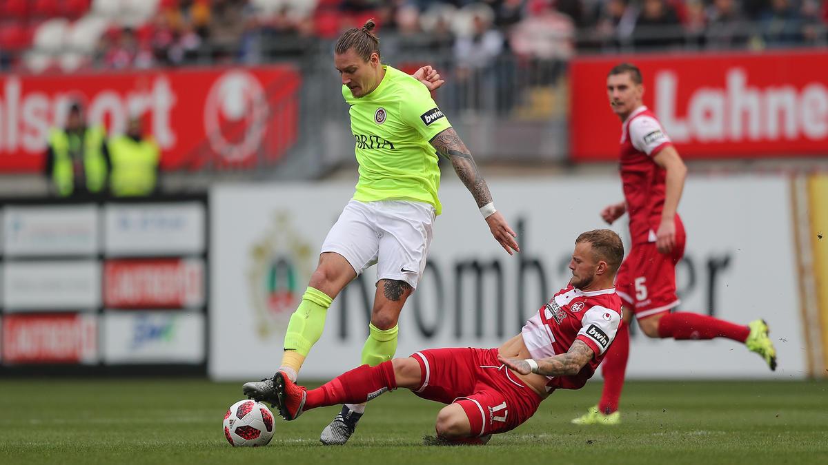 3. Liga: SV Wehen Wiesbaden nach Heimsieg gegen 1. FC Kaiserslautern zurück  auf Platz drei