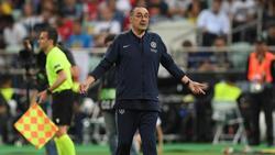 Maurizio Sarri steht kurz vor einem Wechsel zu Juventus Turin