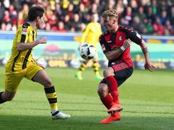 Phillipp ante el Dortmund en la recién acambada temporada (Foto: Getty)