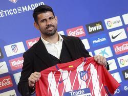 Diego Costa ist zurück in Madrid