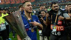 Gewann mit dem FC Chelsea die Europa League: Eden Hazard