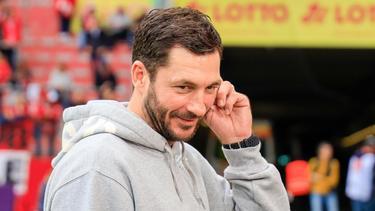 Der Mainzer Trainer Sandro Schwarz hatte als erster Trainer der Bundesliga-Geschichte die Gelb-Rote Karte gesehen