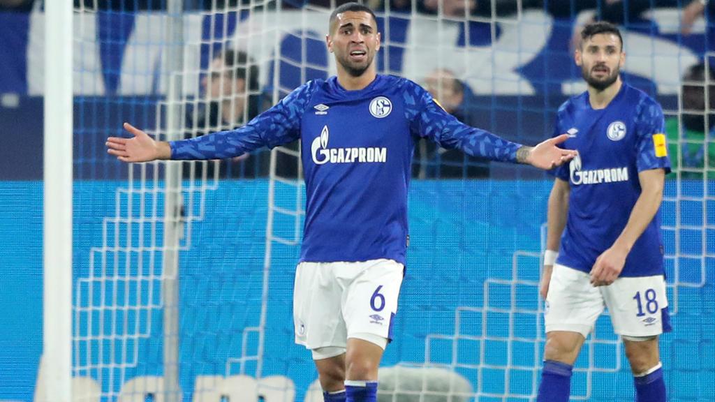 Omar Mascarell hat eine schwere Debütsaison beim FC Schalke hinter sich