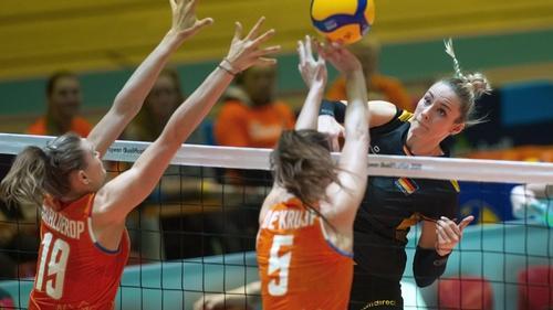 Die deutschen Volleyballerinnen mussten sich der Türkei geschlagen geben