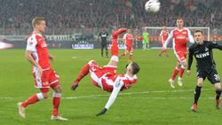 Marcel Hartel erzielte am 31. Januar 2019 in der Partie gegen den 1. FC Köln das Tor des Jahres