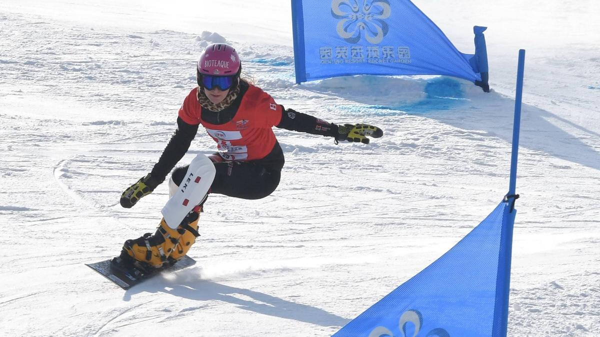 Ramona Hofmeister unterlag im Halbfinale der Olympiasiegerin Ester Ledecka
