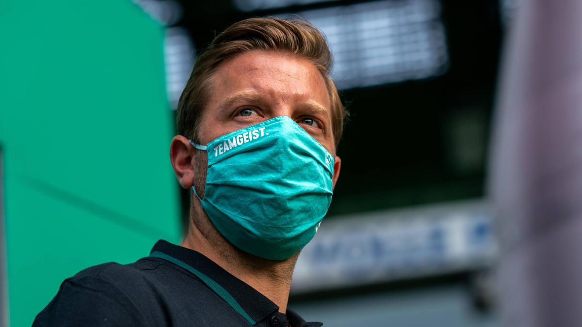 Bremens Cheftrainer Florian Kohfeldt glaubt weiter an sein Team