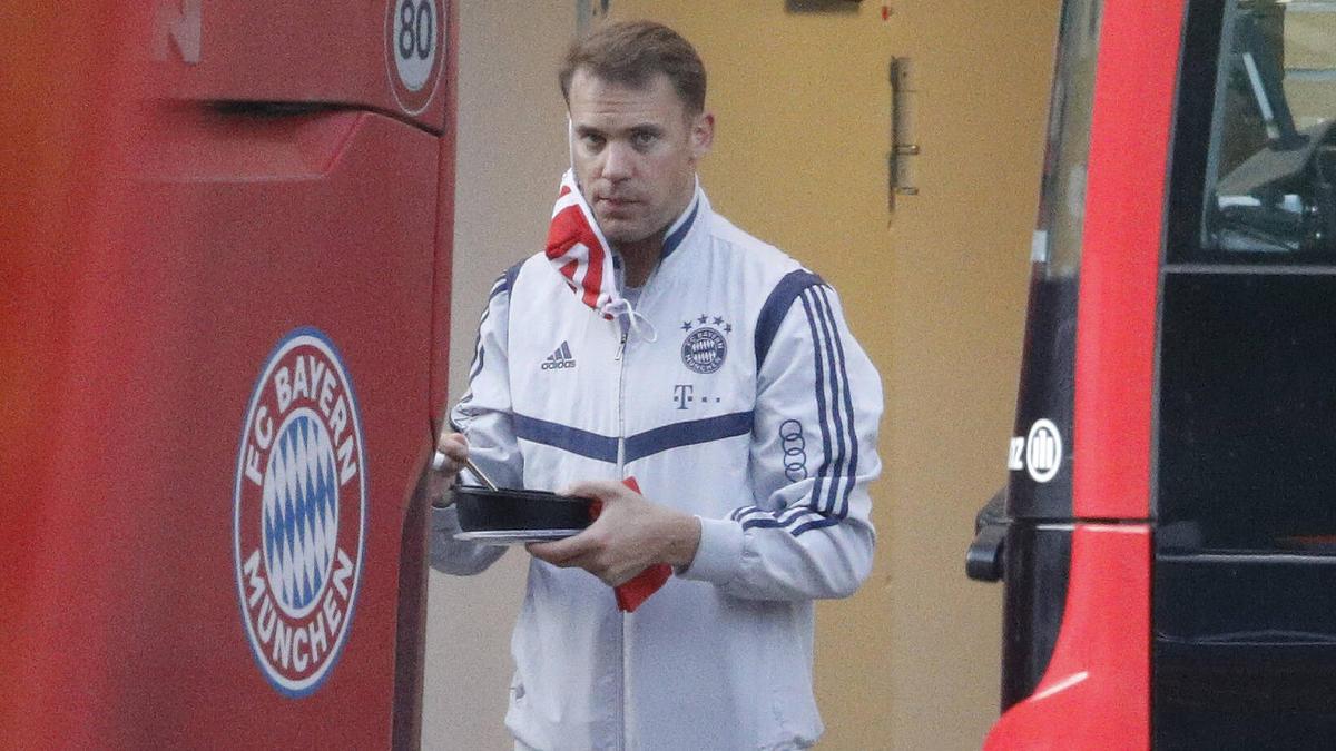 Manuel Neuer steht bis 2023 beim FC Bayern unter Vertrag