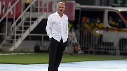 Verwundert über zu kleine Tore: José Mourinho